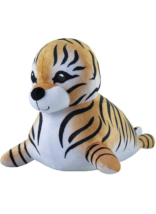 Animal Planet Pluche Toby the Tiger Seal 32 cm