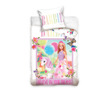 Barbie BABY Bettbezug Einhorn 100 x 135 cm