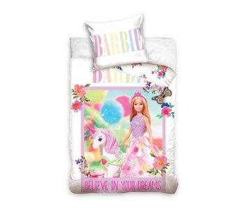 Barbie Housse de couette BÉBÉ Licorne 100 x 135 cm