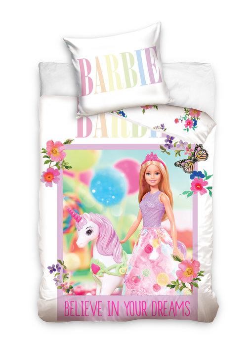 Barbie BABY Dekbedovertrek Unicorn 100 x 135 cm