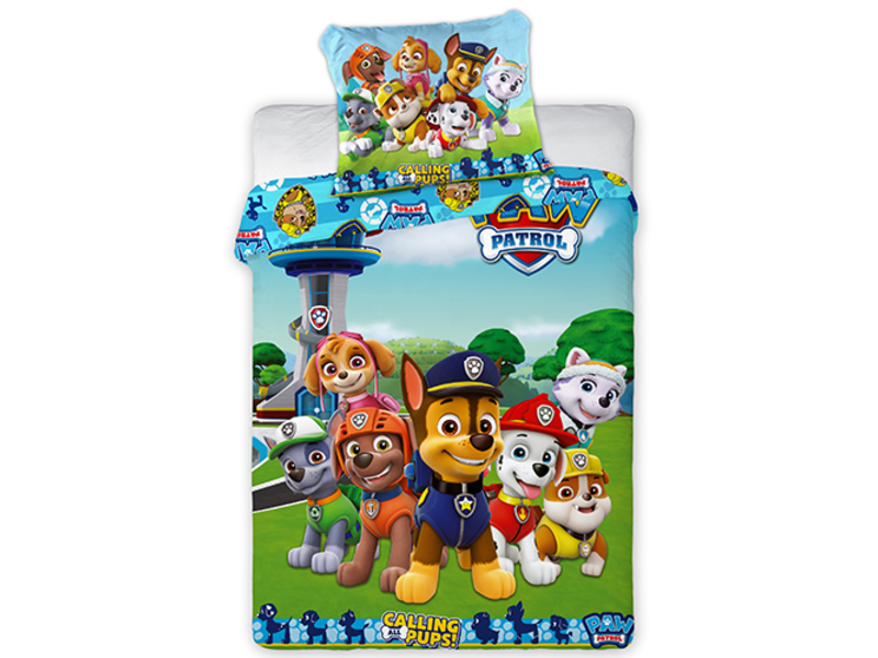 PAW Patrol BABY Duvet cover Calling all Pups - 100 x 135 - Cotton