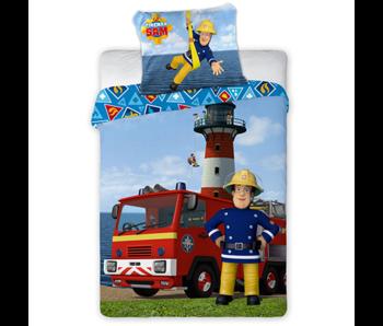 Brandweerman Sam Housse de couette BÉBÉ 100 x 135