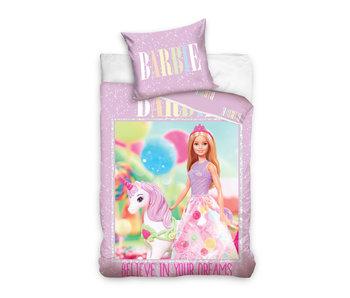 Barbie Dekbedovertrek Unicorn 140 x 200