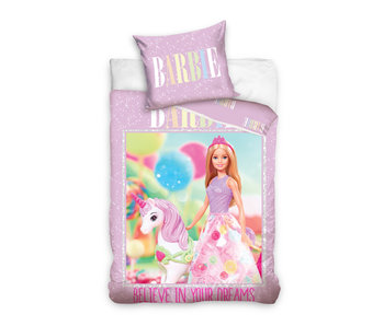 Barbie Housse de couette Licorne 140 x 200