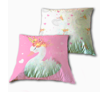 Animal Pictures Coussin Swan 40 x 40 cm