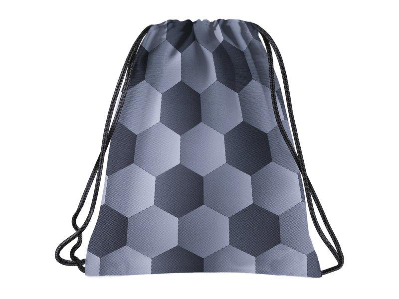 BackUP Gymbag Voetbal - 45 x 35 cm - Polyester