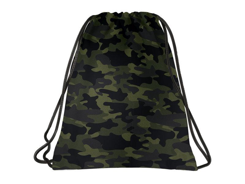 BackUP Gymbag Camouflage - 45 x 35 cm - Polyester