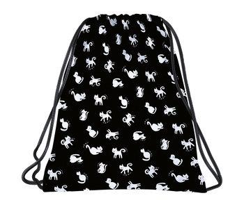 BackUP Gymbag Cats - 45 x 35 cm