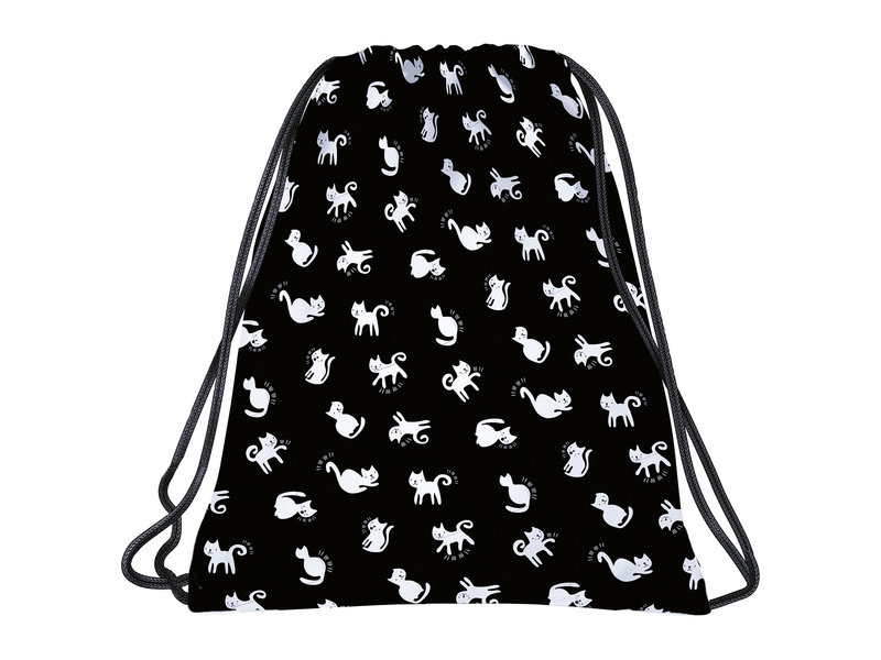 BackUP Gymbag Cats - 45 x 35 cm - Polyester
