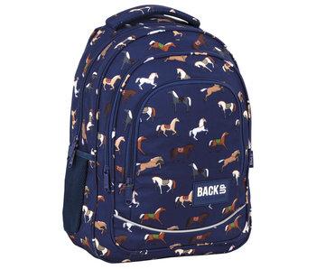 BackUP Backpack Horses 42 x 30 cm