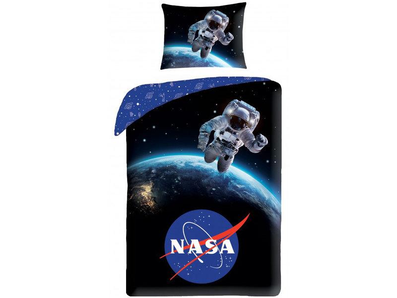 NASA Housse de couette Astronaut - Simple - 140 x 200 cm - Coton