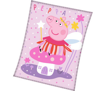 Peppa Pig Fleecedecke Elf 150 x 200 cm