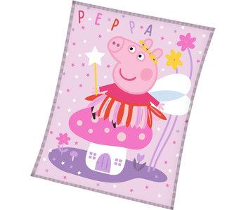 Peppa Pig Fleecedeken Elfje 150 x 200 cm