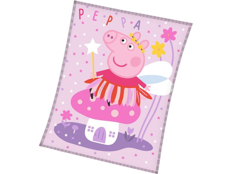 Peppa Pig Fleece blanket Elf - 150 x 200 cm - Polyester