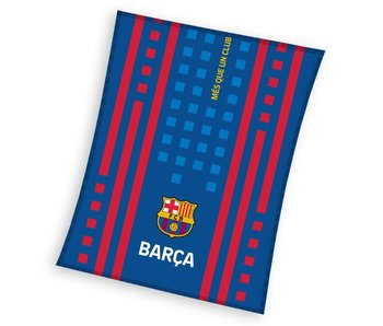 FC Barcelona Fleecedecke Logo 110 x 140 cm