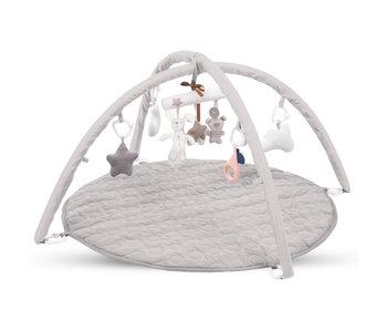 Kidwell Baby-Fitnessstudio mit 8 Spielzeugen - 85 x 85 cm
