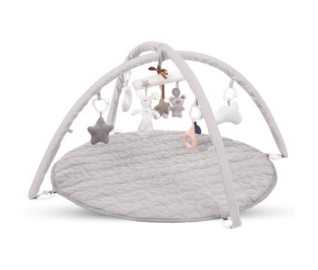 Kidwell Baby gym avec 8 jouets - 85 x 85 cm
