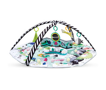 Kidwell Baby gym with 6 toys - 110 x 110 cm