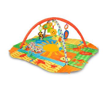Kidwell Baby-Fitnessstudio mit 8 Spielzeugen - 114 x 98 cm