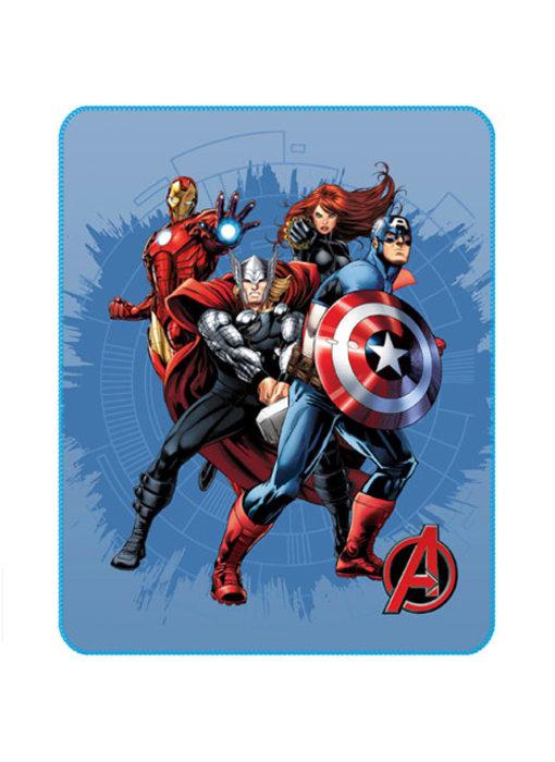 Marvel Avengers Challenge  Fleece deken 110 x 140 cm