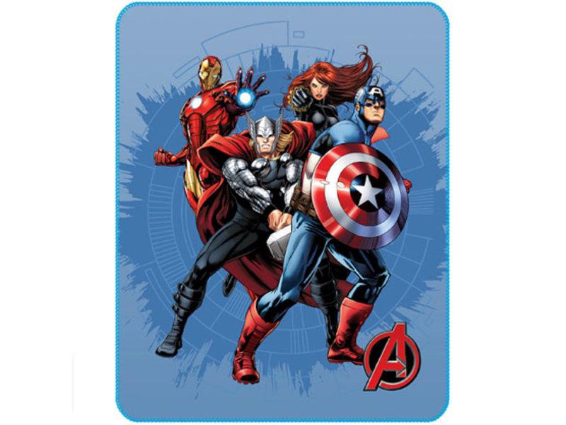 Marvel Avengers Fleece deken Challenge - 110 x 140 cm - Polyester