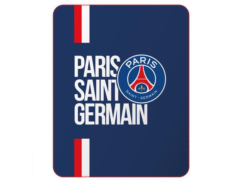 Paris Saint Germain Fleece deken - 110 x 140 cm - Polyester