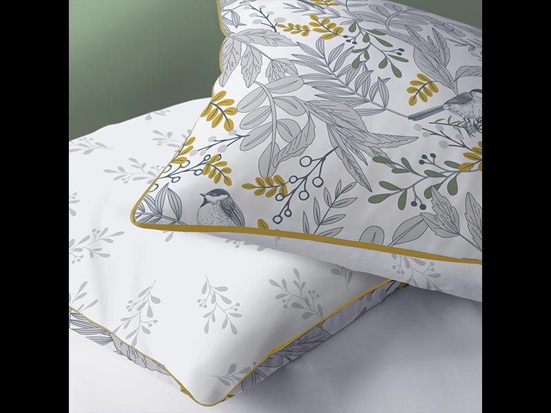 Matt & Rose Duvet cover Bird - Hotel size - 260 x240 cm - Cotton