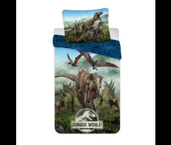 Jurassic World Duvet cover Forest 140 x 200 Cotton
