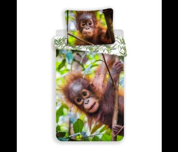 Animal Pictures Housse de couette Orangutans 140 x 200 Coton