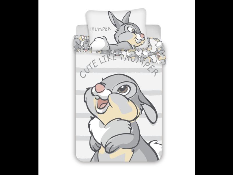 Disney Bambi Housse de couette BABY Cute like Thumper - 100 x 135 cm - Coton