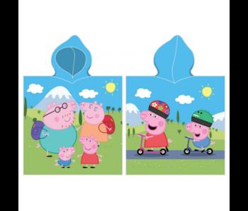 Peppa Pig Poncho Family 50 x 115 cm