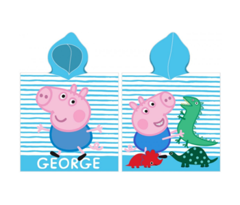 Peppa Pig Poncho George 50 x 115 cm