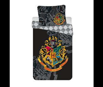 Harry Potter Dekbedovertrek Zweinstein 140 x 200 Katoen