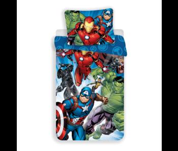 Marvel Avengers Dekbedovertrek Victory 140 x 200 Katoen