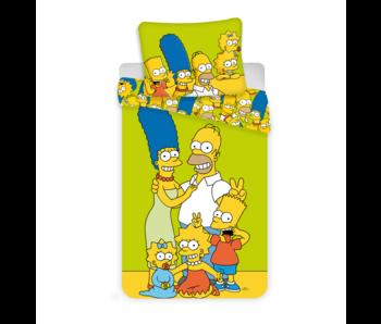 The Simpsons housse de couette Family 140 x 200 cm 70 x 90 cm coton