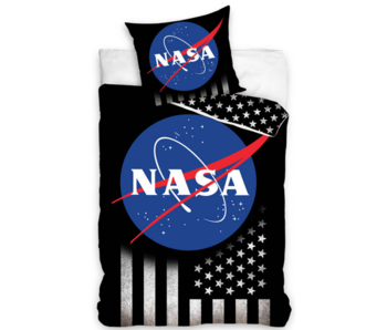 NASA Dekbedovertrek Stars & Stripes 140 x 200