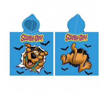 Scooby-Doo Poncho chauve-souris 50 x 115 cm