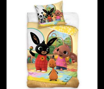 Bing Bunny Dekbedovertrek Speeltijd 140 x 200 Katoen