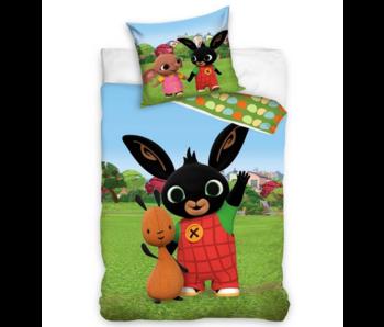 Bing Bunny BABY Dekbedovertrek Wave 100 x 135 cm