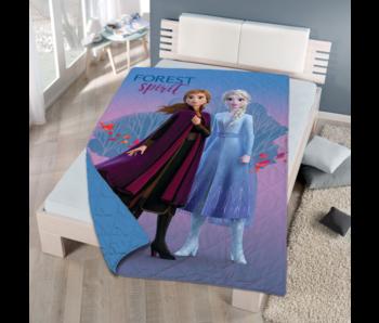 Disney Frozen Forest Spirit bedspread 170 x 250 cm