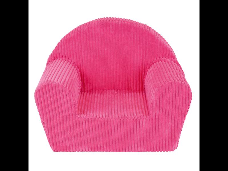 Jemini Fauteuil Pink Corduroy - 42 x 52 x 33 cm - Polyester