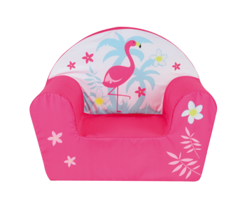 Flamingo Armchair Flower 42 x 52 x 33 cm