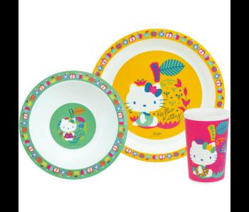 Hello Kitty Set petit déjeuner 3 pièces
