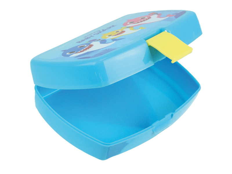 Baby Shark Lunchbox - 16 x 11 x 5 cm - Blauw