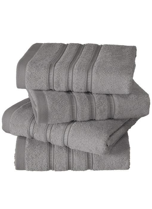 De Witte Lietaer luxury kitchen towel Dolce steel gray 4 pieces 60x60 cm
