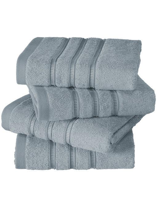 De Witte Lietaer luxury kitchen towel Dolce ice blue 4 pieces 60x60 cm