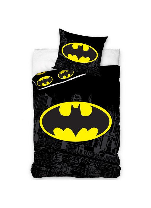 Batman Dekbedovertrek Logo 140 x 200 Katoen