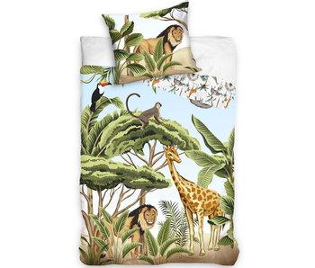 Animal Pictures Safari duvet cover 140 x 200 Cotton