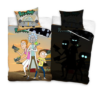 Rick & Morty Bettbezug Glow in the Dark 140 x 200 Baumwolle