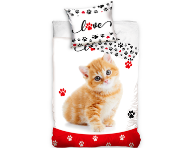 Animal Pictures Dekbedovertrek Kitten Love140 x 200 Katoen